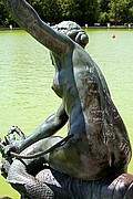 Lago del Retiro, Madrid, España