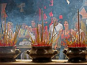 Pagoda china Thien Hau, Saigon, Vietnam