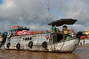 Mercado flotante de Cai Rang, Can Tho, Vietnam