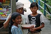 Poblado Champa, Chau Doc, Vietnam