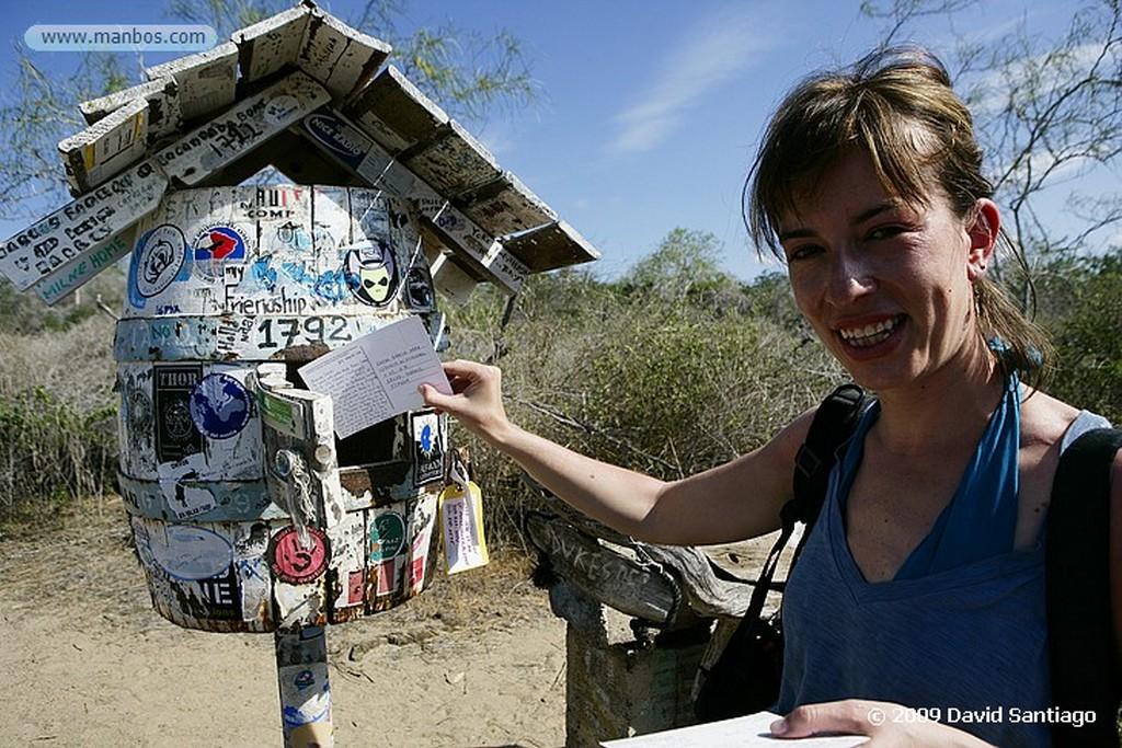Islas Galapagos Buzon de correos Floreana Islas Galapagos