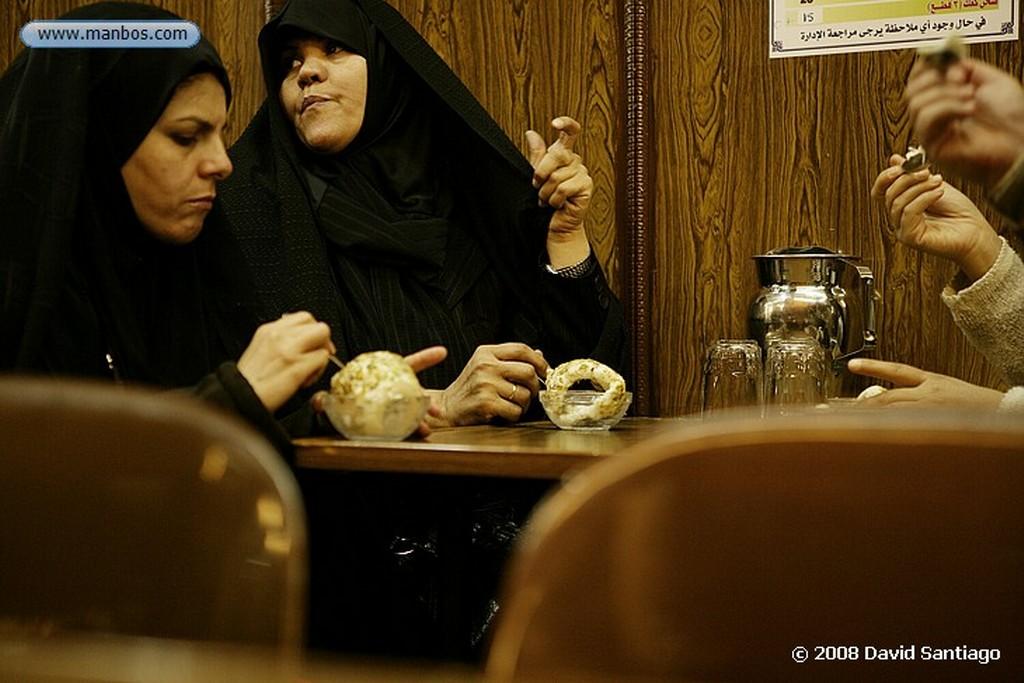 Damasco Cafeteria en el Zoco de Damasco Damasco