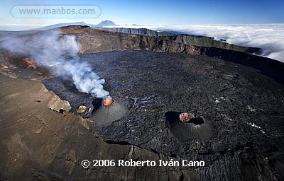 Volcán Piton de la Fournaise - Isla Reunión