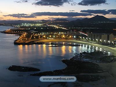 Anochece en Arrecife - Lanzarote