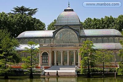 El Palacio de Cristal del Retiro - Madrid