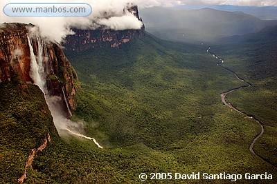 Salto del Angel  - Parque Nal. Canaima - Venezuela