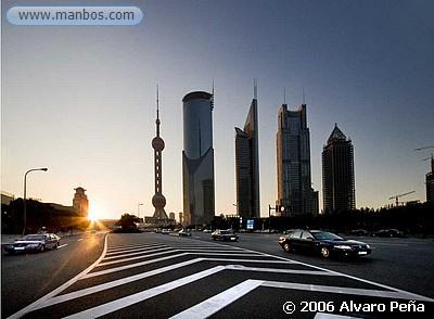 Shanghai - Rascacielos