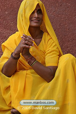 Mujer India - Agra