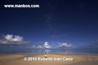 Noche estrellada - Islas Cook