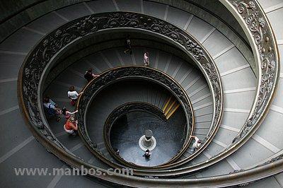 Escalera de caracol, Vaticano - Roma
