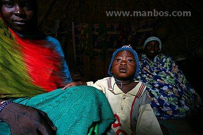 Familia de nativos, Chad