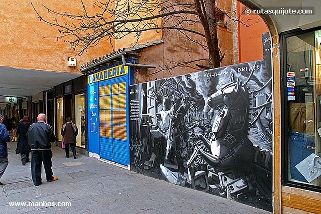Alcala de Henares Calle Mayor de Alcala de Henares Madrid