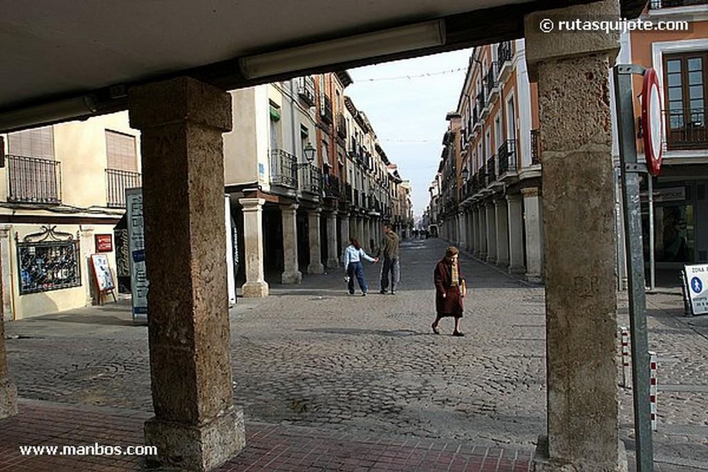Alcala de Henares Callejon Madrid