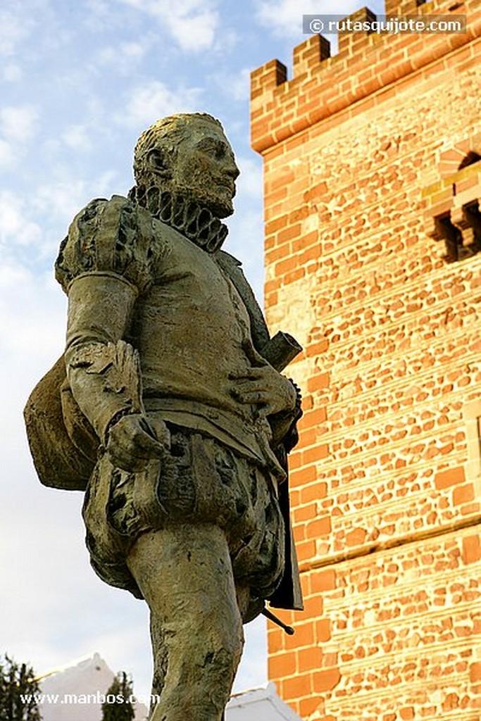 Alcazar de San Juan Cervantes y Torre Ciudad Real