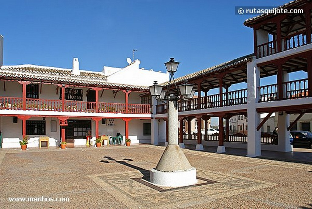 Puerto Lápice Plaza Mayor Ciudad Real