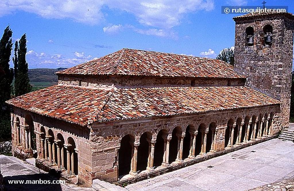 Atienza Iglesia de San Bartolomé Guadalajara