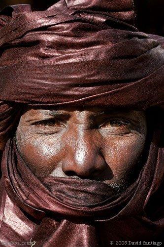 Nativo de Tamanraset, Argelia