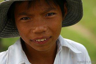Vietnam - Muchacho pastor