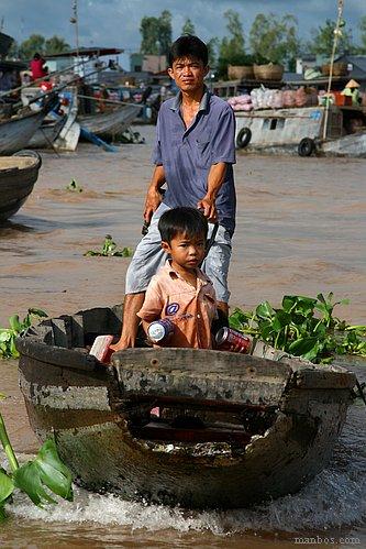 Vietnam - Mercado flotante de Cai Rang