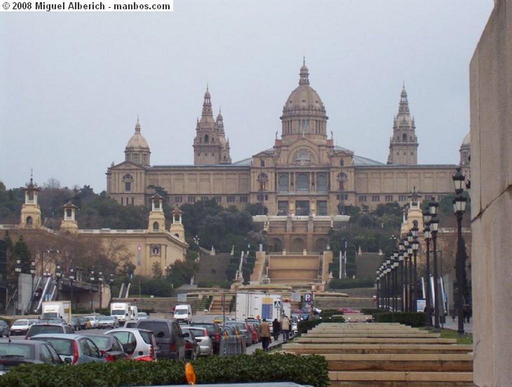 Barcelona Puerto de Barcelona desde Montjuit Barcelona