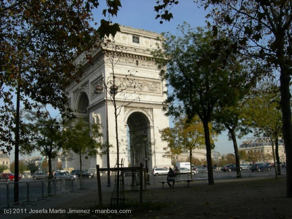 Paris Arc de triomphe Paris