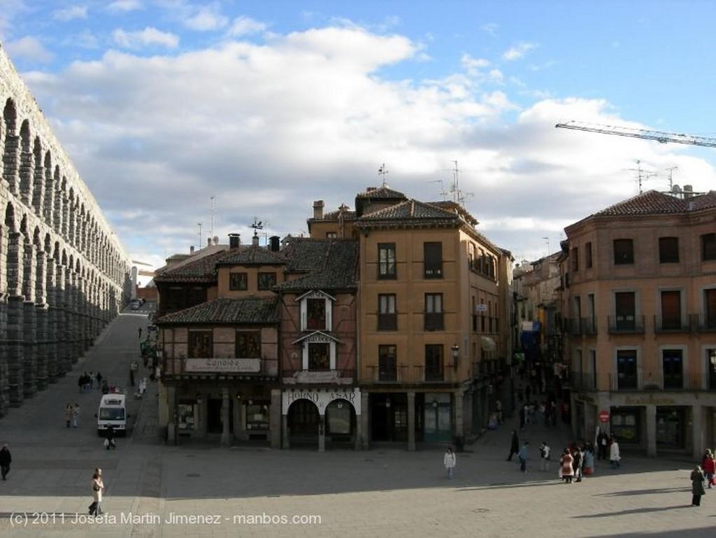 Segovia Plaza Mayor Segovia