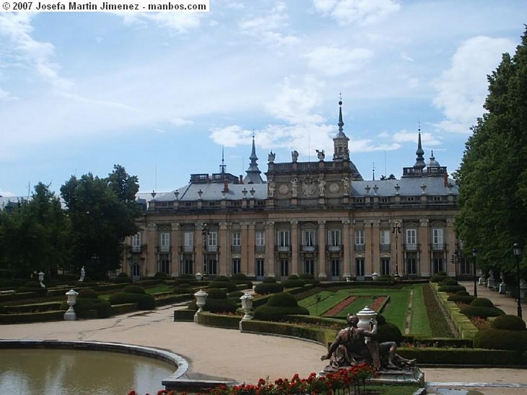 La Granja Fuente de Neptuno Segovia