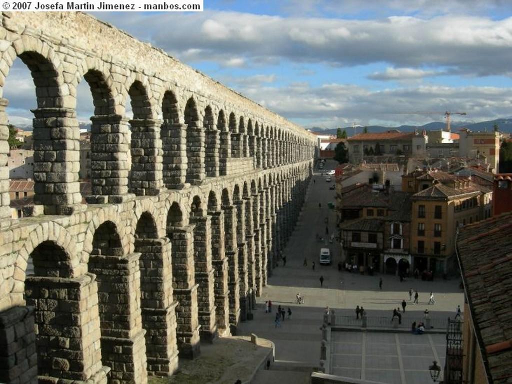 Segovia La Mujer Muerta nevada Segovia