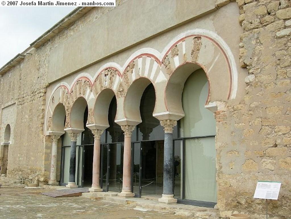 Medina Azahara Aposentos Zona Noble Cordoba
