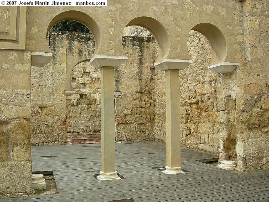 Medina Azahara Zona Noble Cordoba