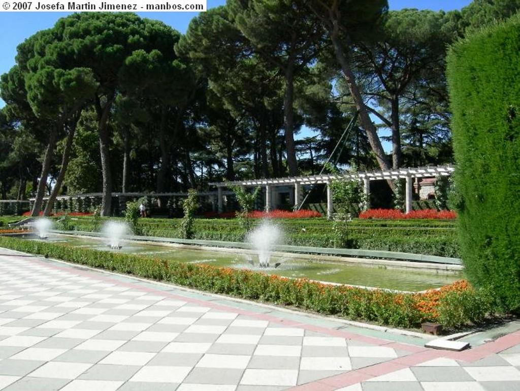 Madrid Jardines de Cecilio Rodrigez Madrid