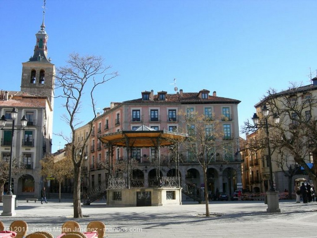 Segovia Plaza del Azoguejo Segovia