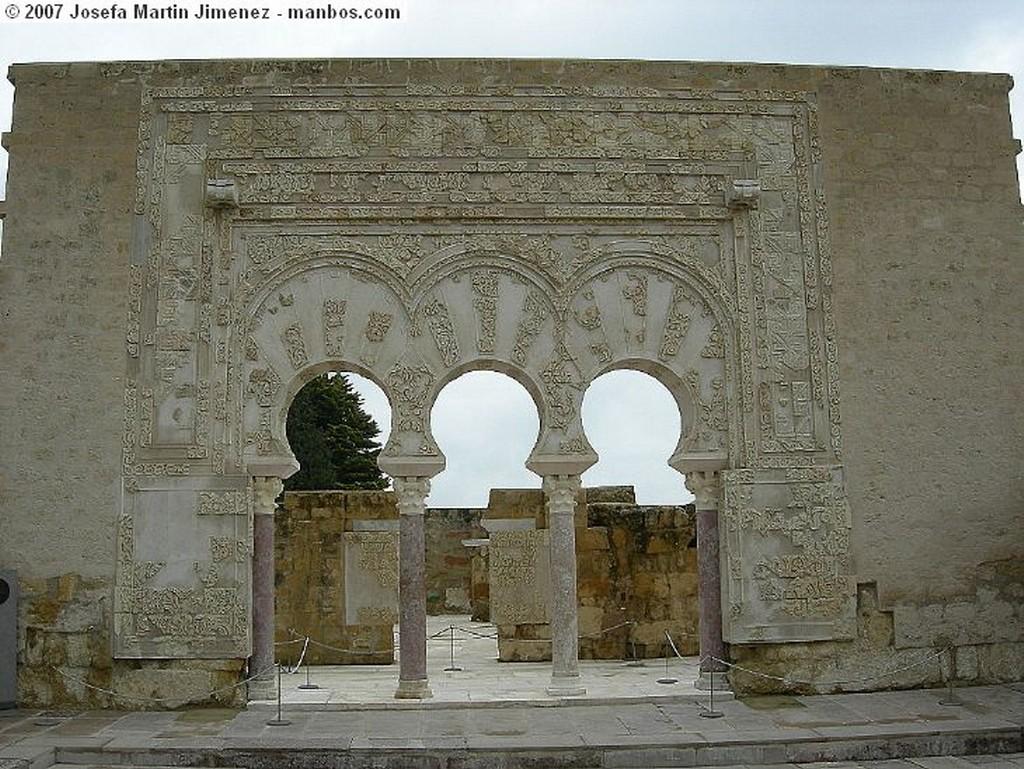 Medina Azahara Aposentos Cordoba