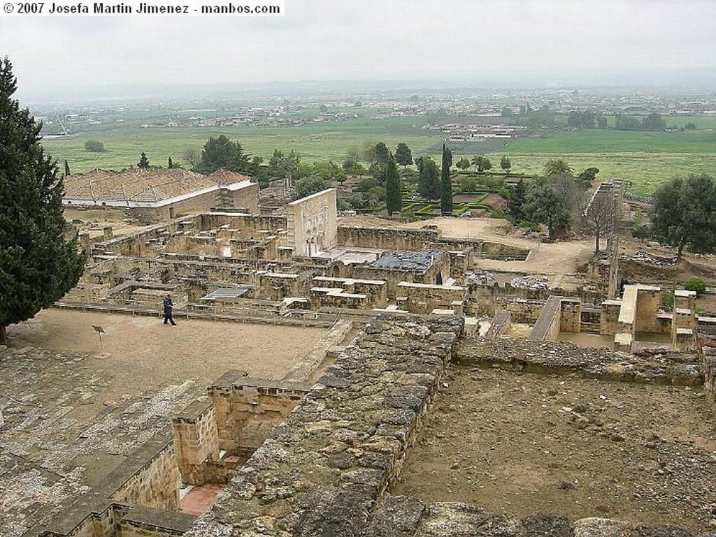 Medina Azahara Puerta Zona Militar Cordoba