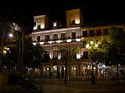 plaza mayor, Segovia, España