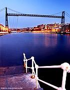 Puente de Vizcaya, Getxo, España