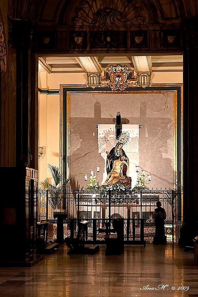 Cartagena Altar Mayor. Santa María de Gracia Murcia