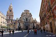 Plaza del Cardenal Belluga, Murcia, España