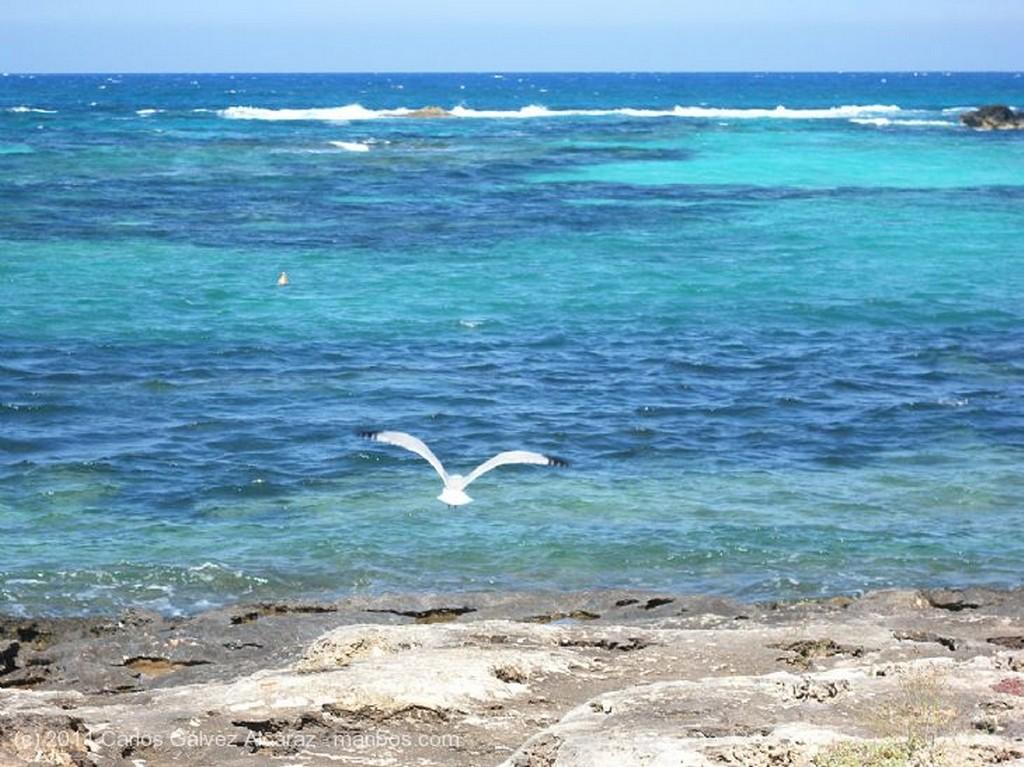 Formentera Embarcadero ruinoso. Islas Baleares