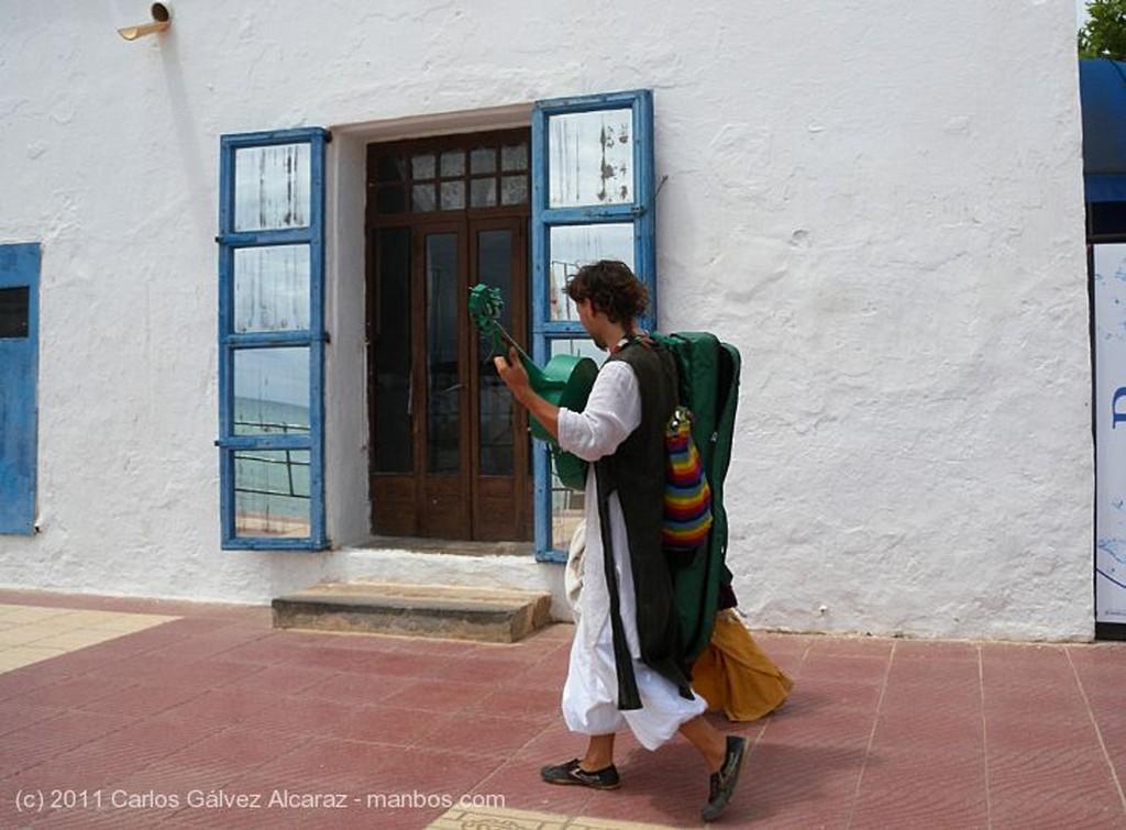 Ibiza Paseo marítimo Islas Baleares