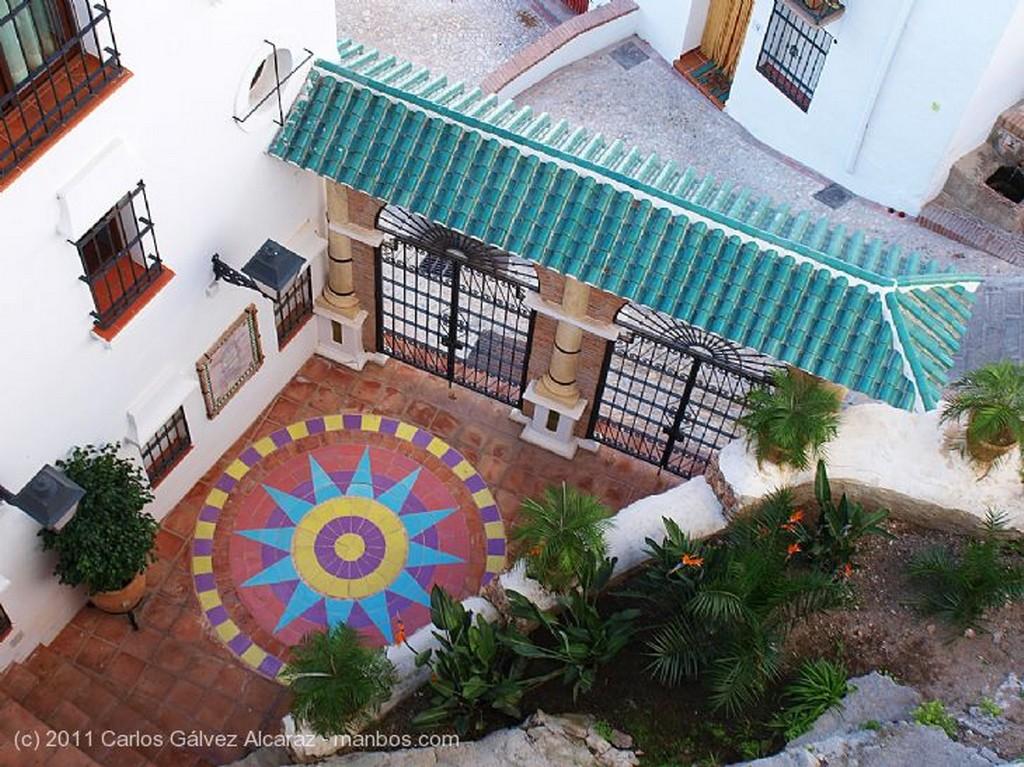 Frigiliana Tejados Málaga