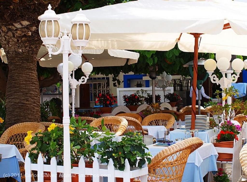 Ibiza Escafandra en restaurante Islas Baleares