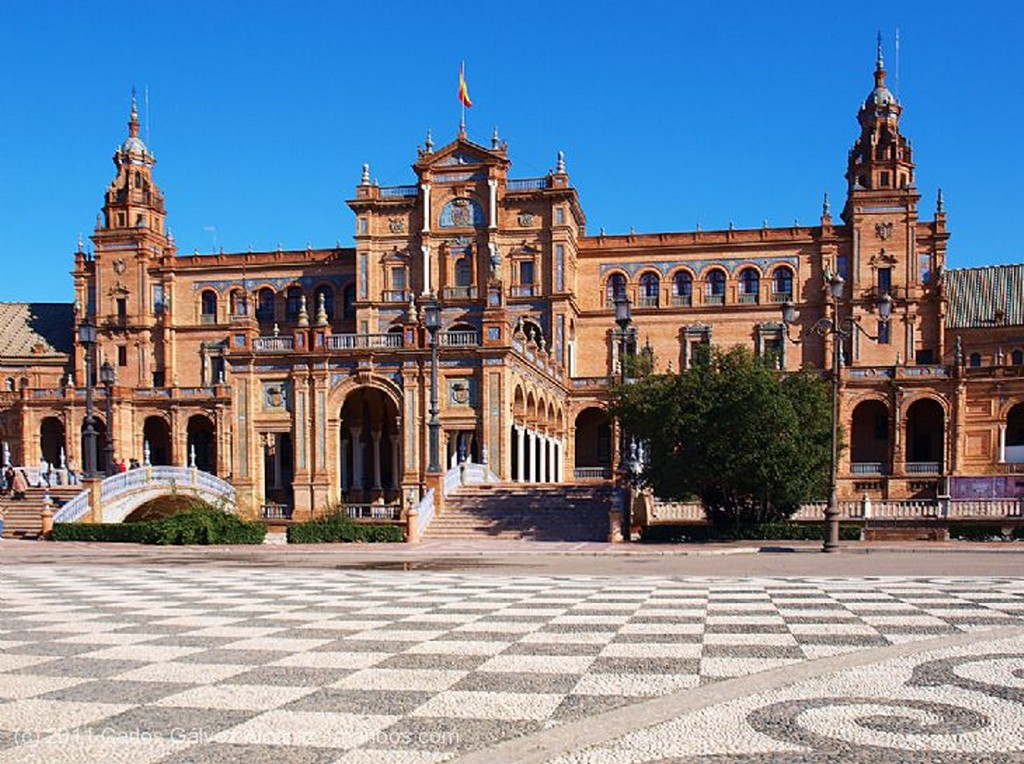 Sevilla Plaza de España. Sevilla