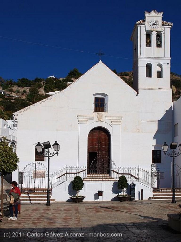Frigiliana Iglesia Málaga