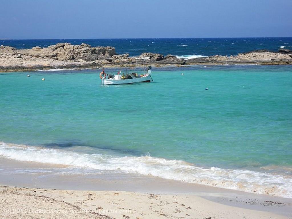 Formentera Cobertizo de pescadores. Islas Baleares