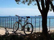 Playa de Ferreríes, Ibiza, España