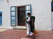 Paseo marítimo de Santa Eulalia, Ibiza, España