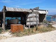 Puerto pesquero en Formentera., Formentera, España