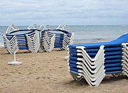 Playa de Santa Eulalia, Ibiza, España