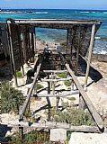Puerto pesquero en Formentera, Formentera, España